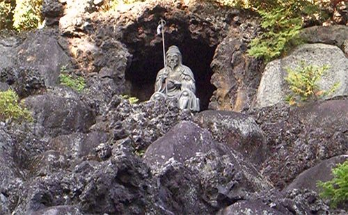 Figure Guarding The Cave of Your Heart